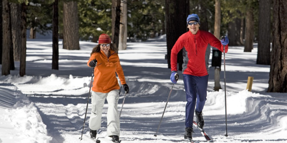 Cross-country ski trail – Camp Richardson Resort