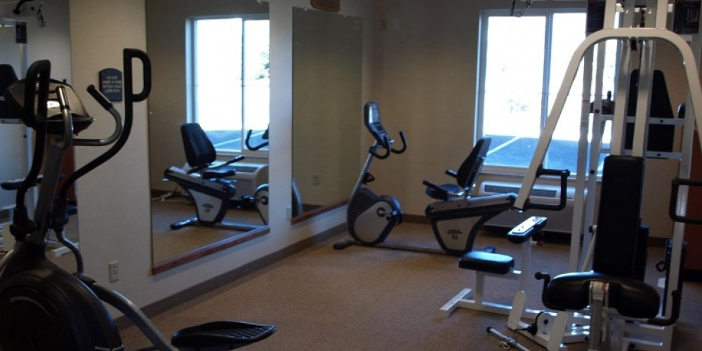 Excercise room open 24/7 – Diamond Mountain Casino and Hotel