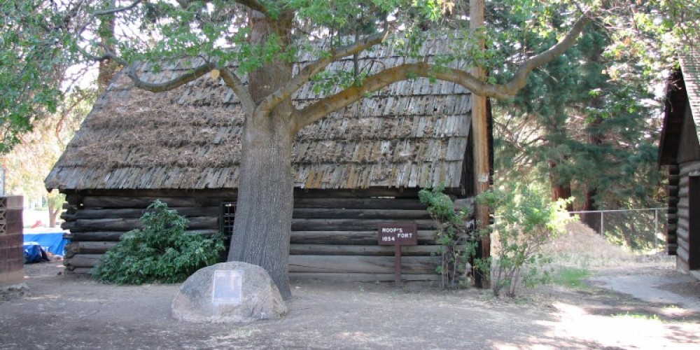 Roop's Fort, Built in 1854.  The oldest building in Lassen County. – lhansen