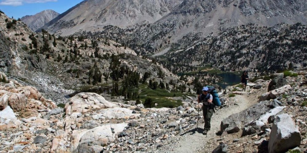 The Rae Lakes Loop is one of the most popular trails leading into the marvelous alpine country of Sequoia and Kings Canyon National Parks. – NPS/Rick Cain