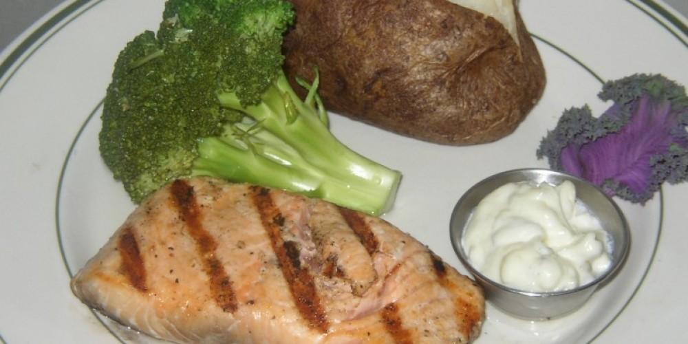 Fresh Broiled Wild Salmon – Glenn McIntyre