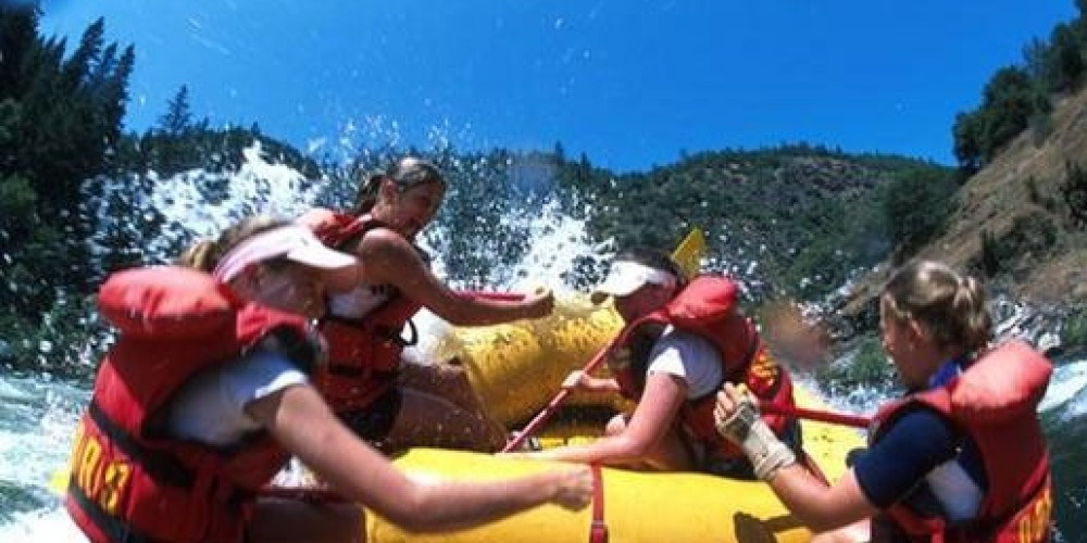 Whitewater rafting on the South Fork of the American River – www.oars.com