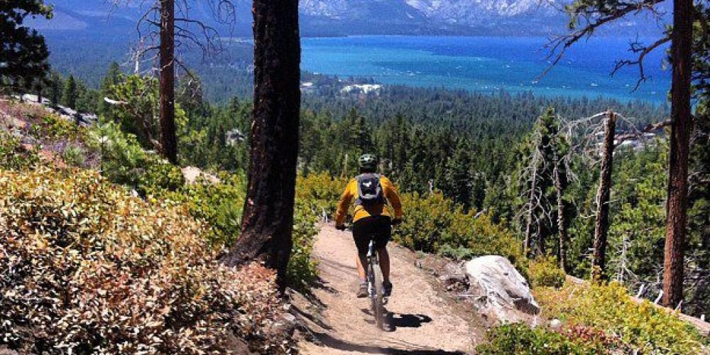 Van Sickle trail above Lake Tahoe Resort Hotel. – Lake Tahoe Resort Hotel