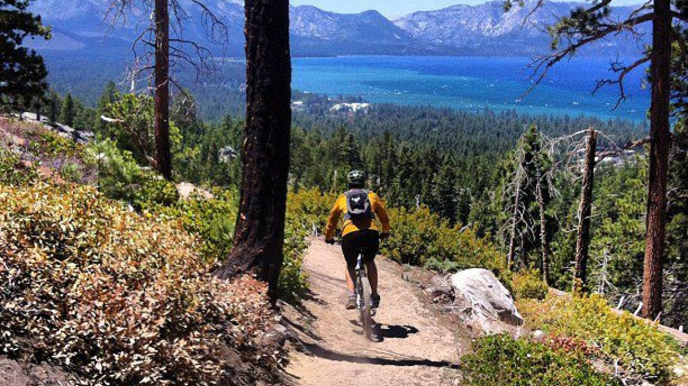 Van Sickle trail above Lake Tahoe Resort Hotel. – Lake Tahoe Resort Hotel