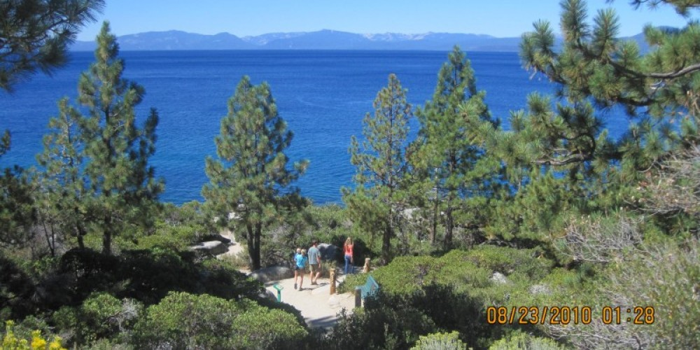 Trails from State Route 28 to the shoreline at Lake Tahoe Nevada State Park provide access to the water for visitors seeking an exceptional outdoor recreation and sightseeing experience. – Nevada Commission on Tourism