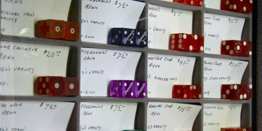 The selection of antique and vintage dice is quite extensive. – Karrie Lindsay