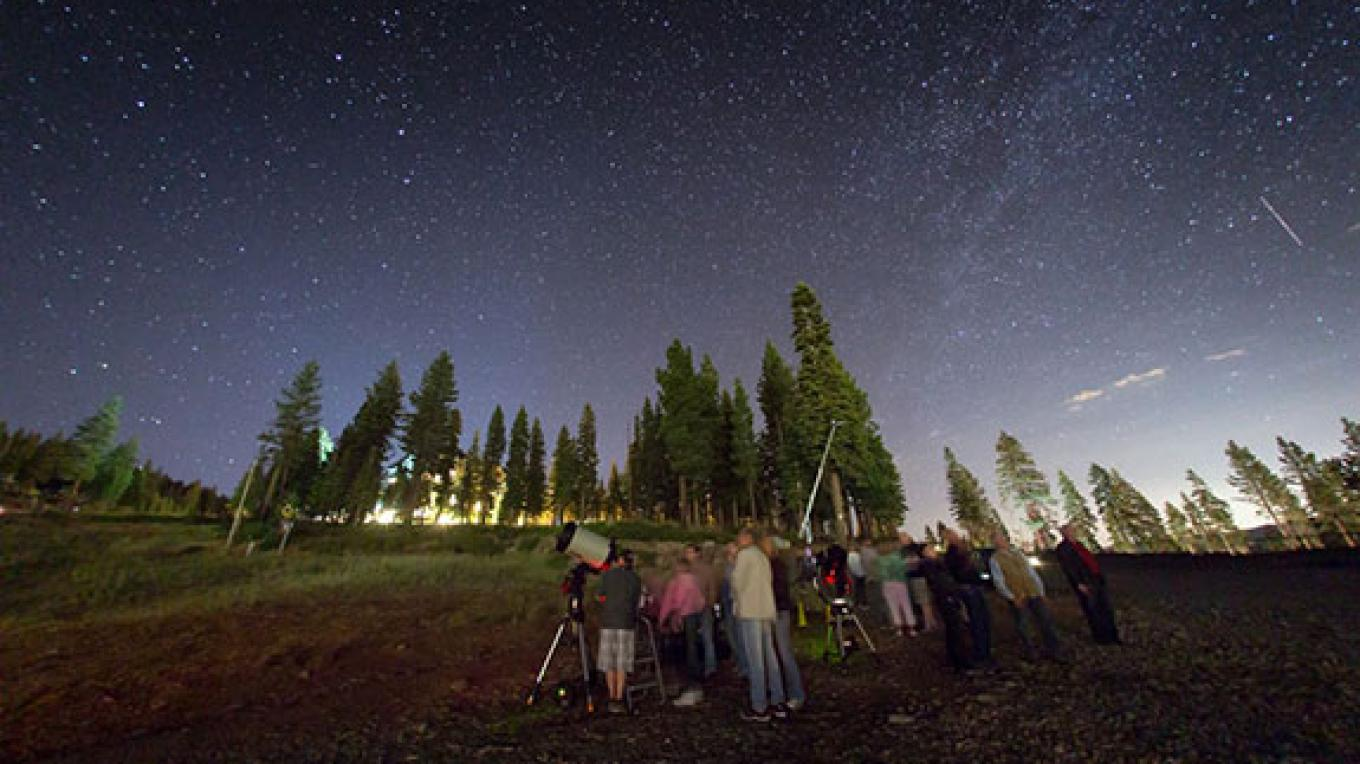 Starry starry nights at Tahoe. – Tahoe Star Tours Facebook Page