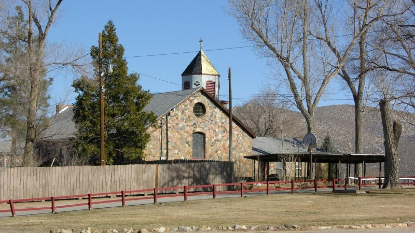 The buildings of the Stewart Indian School are part of a self-guided walking tour in Carson City, Nev. – Bruce Rettig