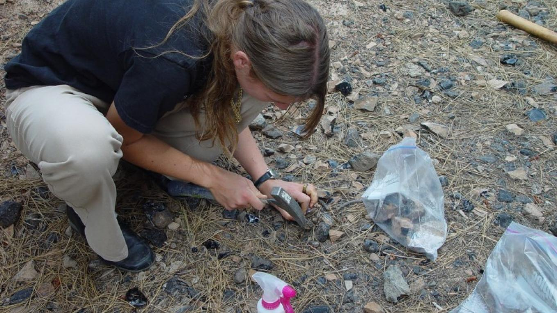 Obsidian hunters have plenty of obsidian to choose from. – Jean Bilodeaux