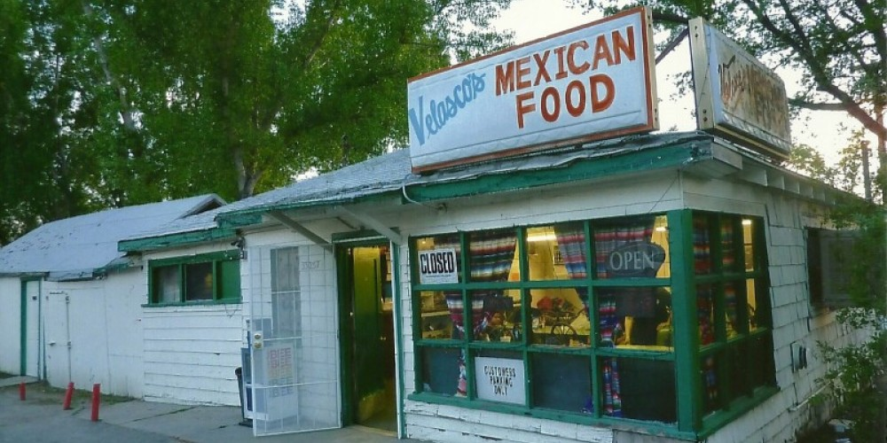 Root's cafe from 1950's then Jack and Eddie's OLd Town cafe.currently Valasco's Mexican restaurant. – Susan Leeper