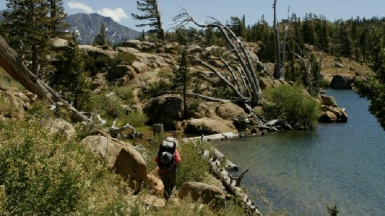 Hiking Upper Kinney Lake