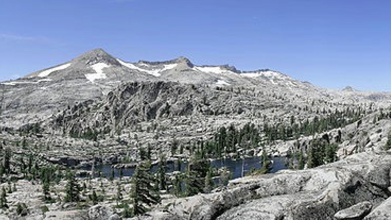 Pyramid Peak on Left