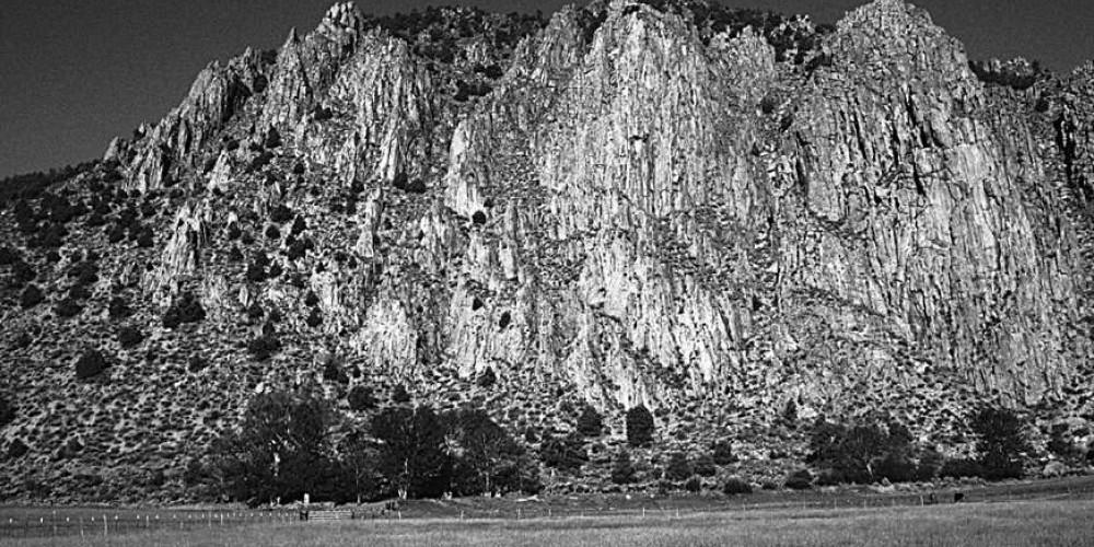 B&W of Cliffs – Dave Schlom