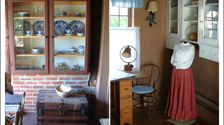Watson Cabin interior