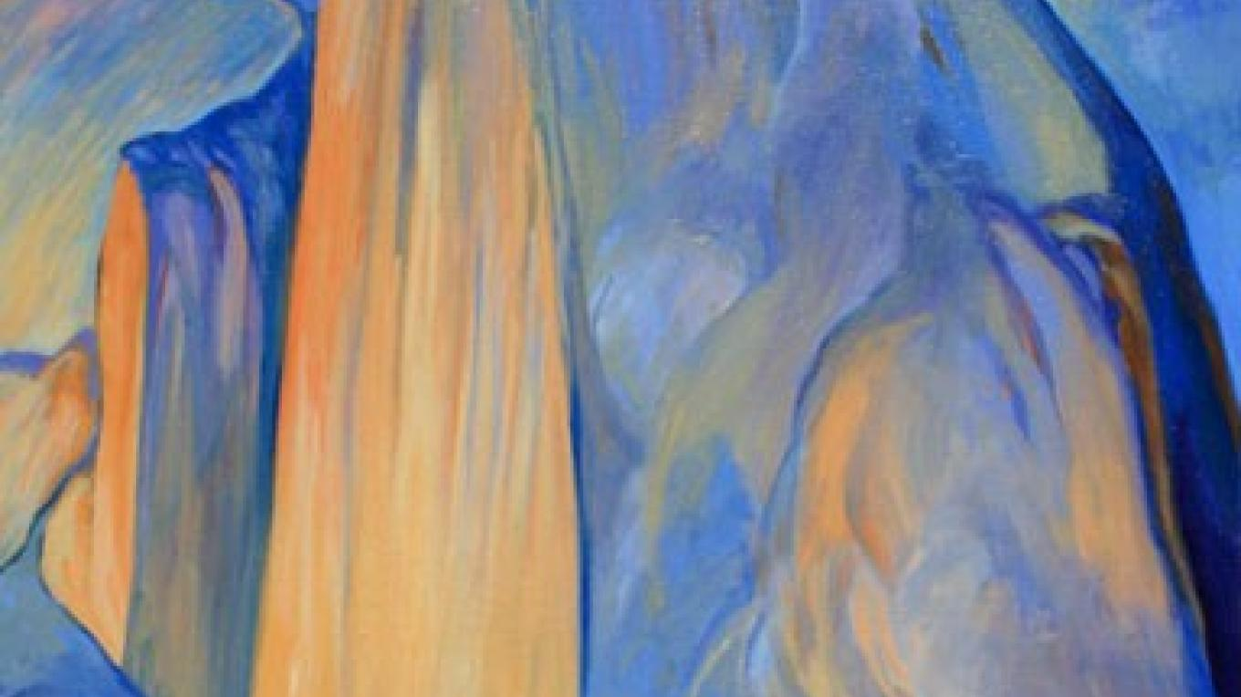 Half Dome, 24x36, oil/canvas, Wynne Benti – Coons Gallery