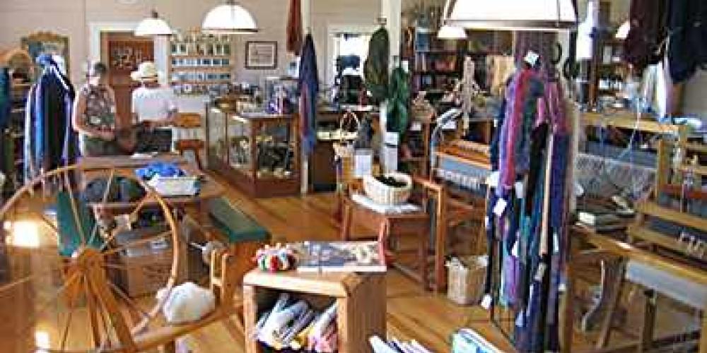 The working studio and salesroom of Warner Mountain Weavers – Tim Sachak