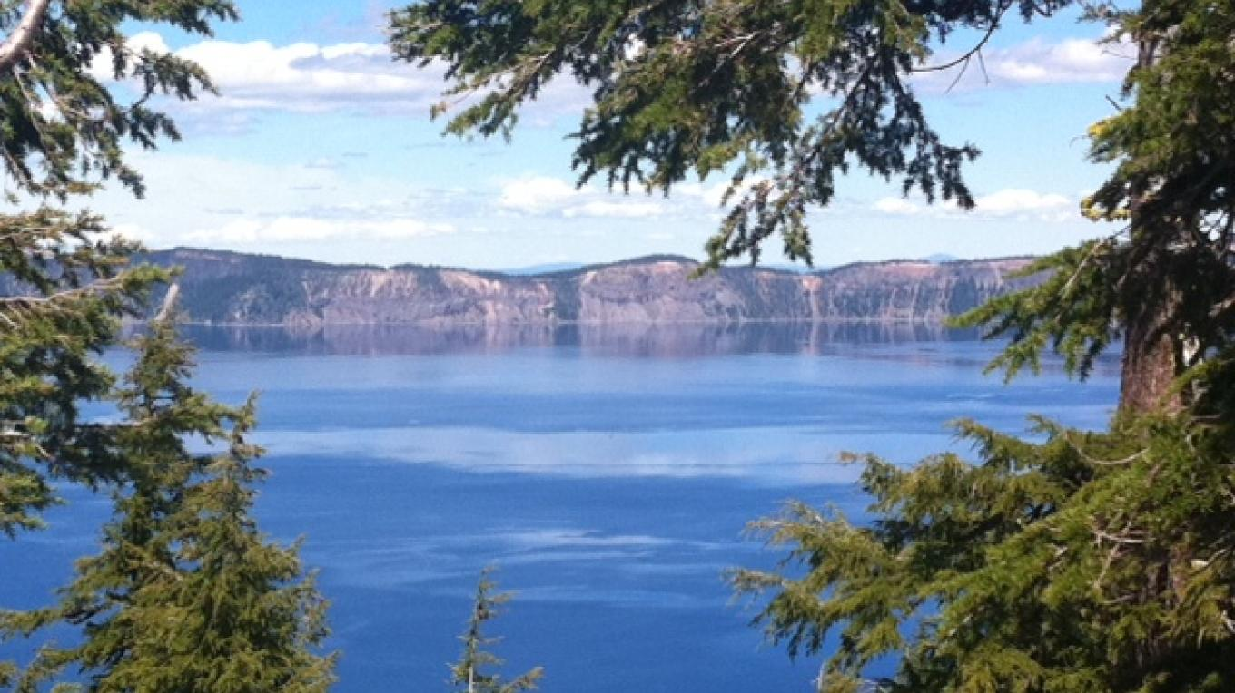 Crater Lake, Oregon. – by Allison Scull