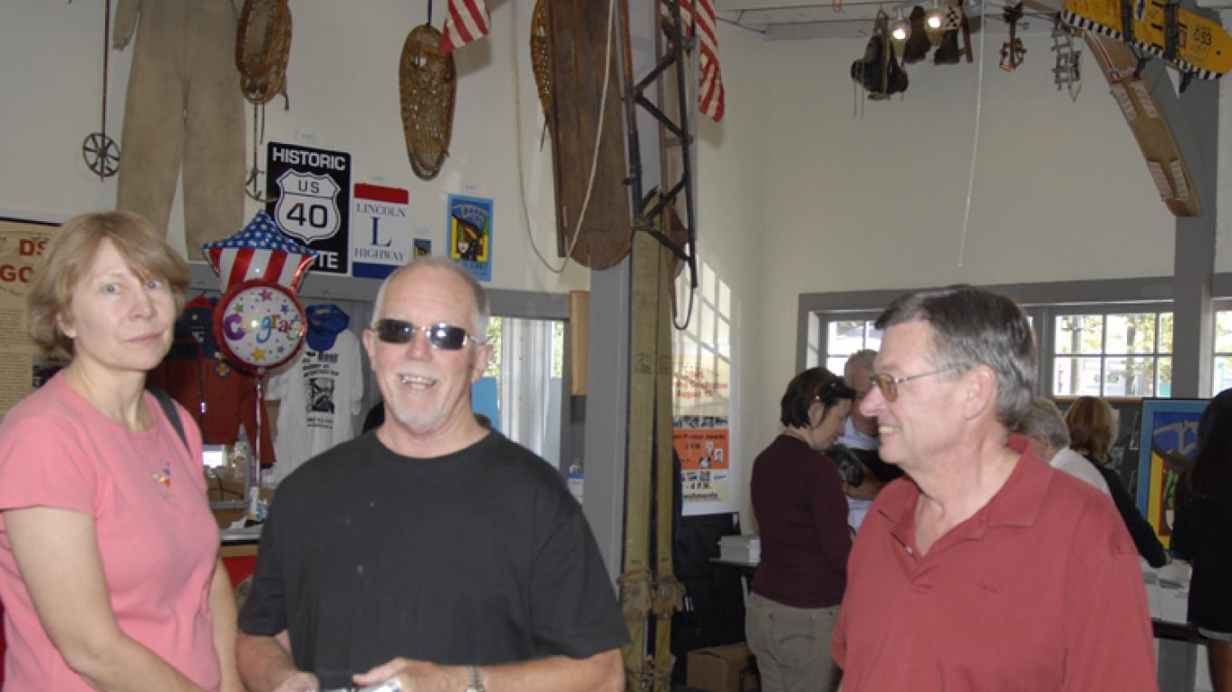 visitors in the DSHS museum – bill oudegeest