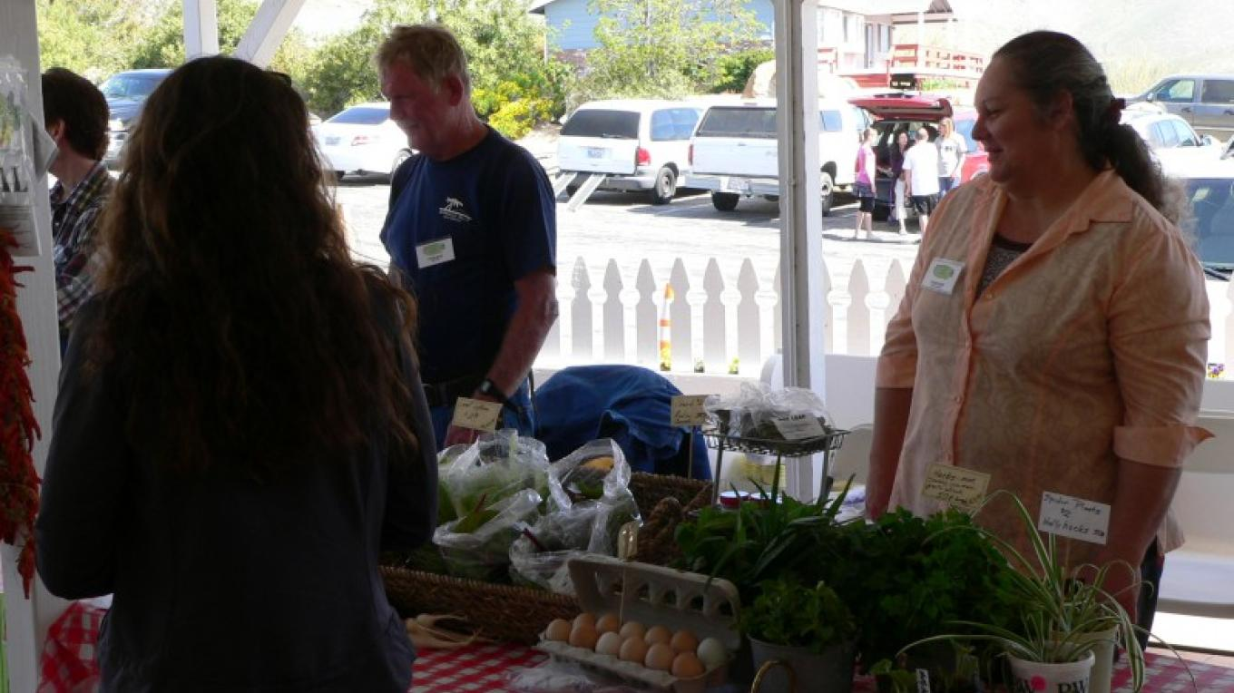 SB Produce and Never B Done Ranch offer a variety of local produce and herbs. – David Dills