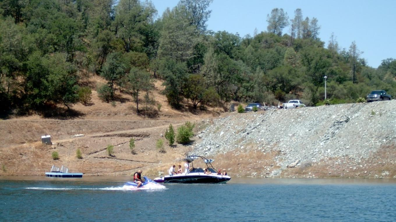 Embarking on a day of boating fun at Don Pedro Lake. – Carol Russell