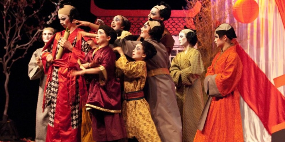 "Children's Theater Company  - Performing Arts Guild, performs ""The Mikado"" – Tony Finnerty"