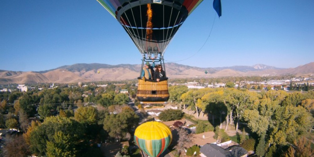 Hang out under the fire with Balloon Nevada