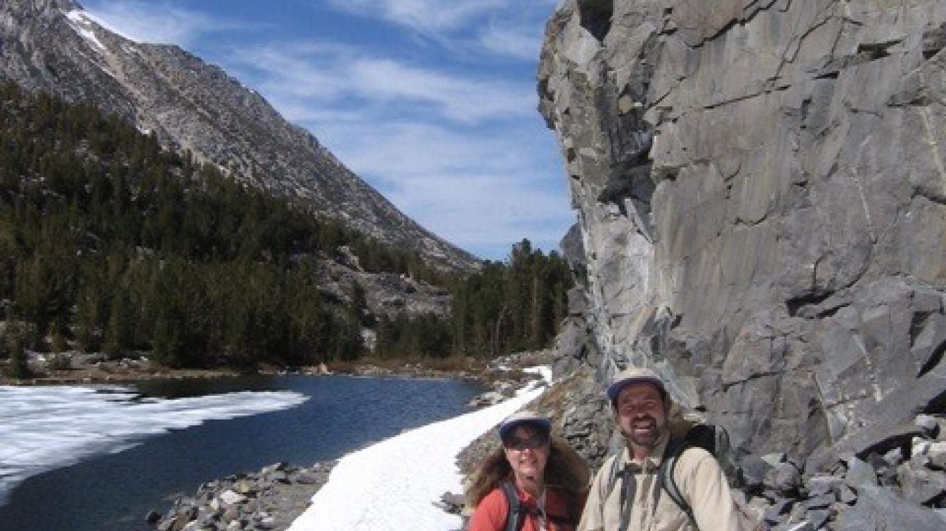The trail can be buried by snow until early summer – Bradley Cleveland