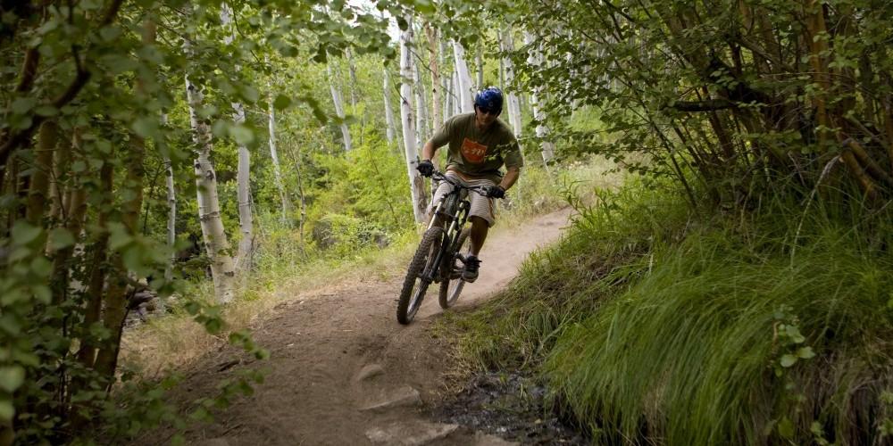 Mountain Biking Lower Rock Creek Canyon – Christian Pondella