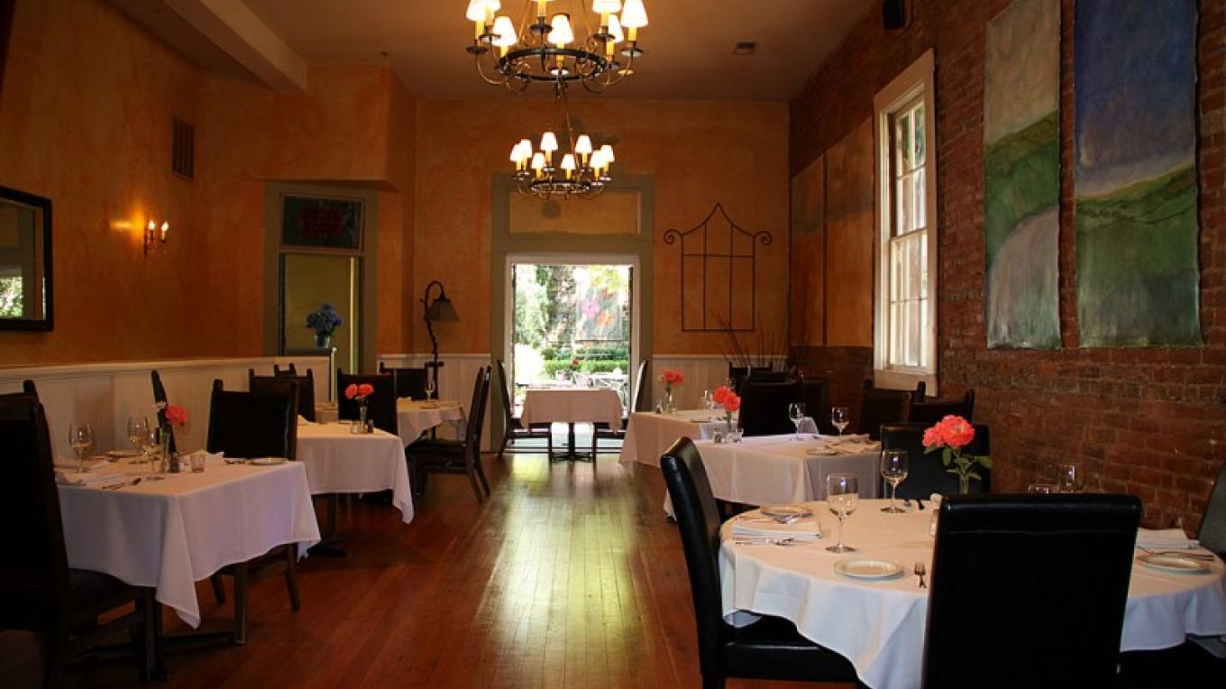 Imperial Hotel Dining Room – Christine Gustafson
