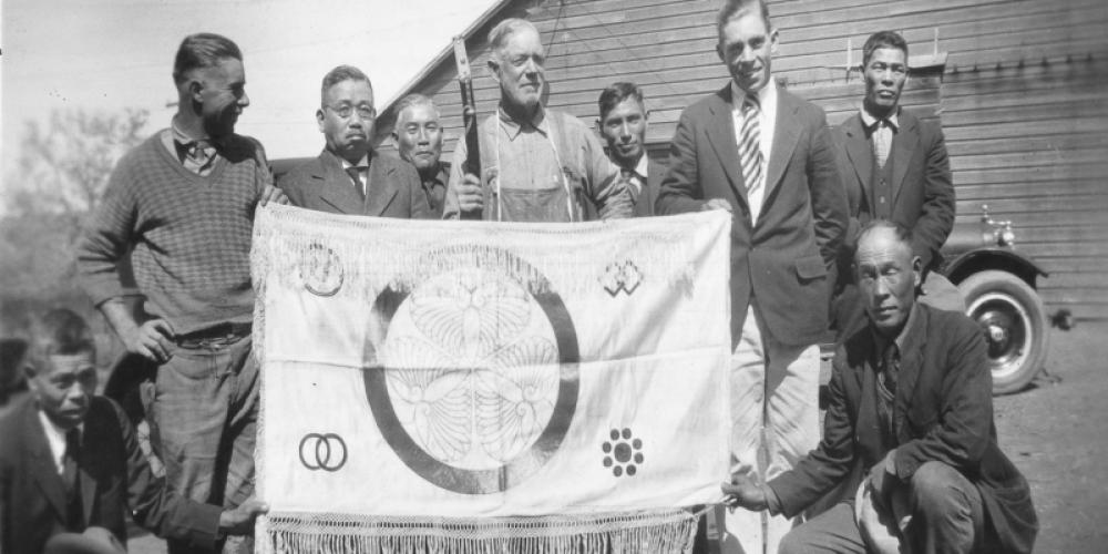 Veerkamp Family and Japanese Americans, circa 1930 – ARC