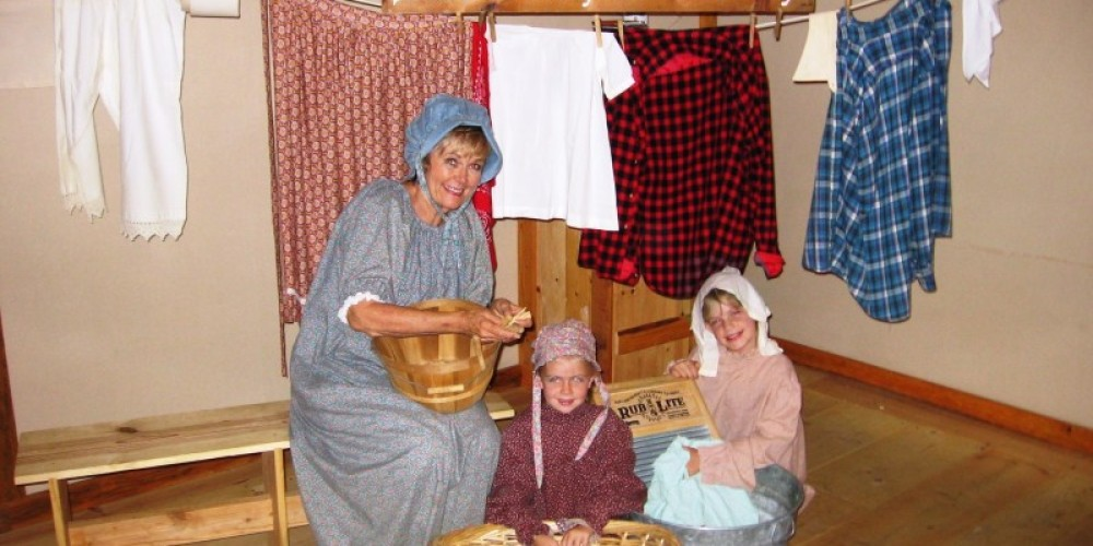 Gold Rush Era Laundry Ladies! – Placer County Museums