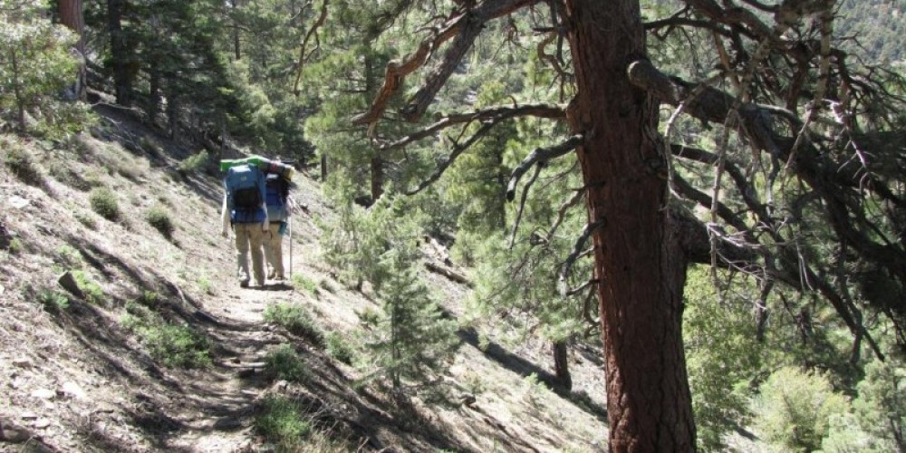 Backpacking the Pacific Crest Trail above Indian Wells Canyon – Shelley Ellis