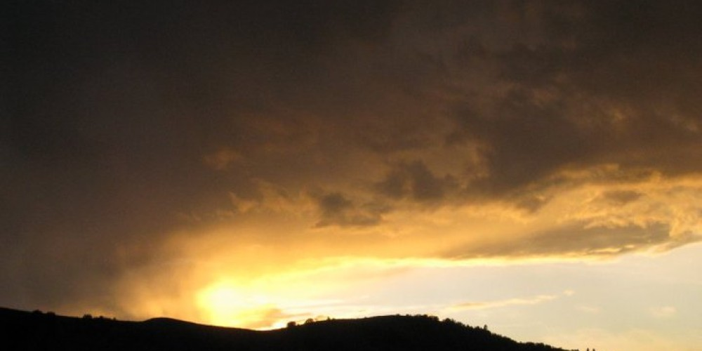 Another type of sunset ~ The sky is always changing – LeTina Vanetti