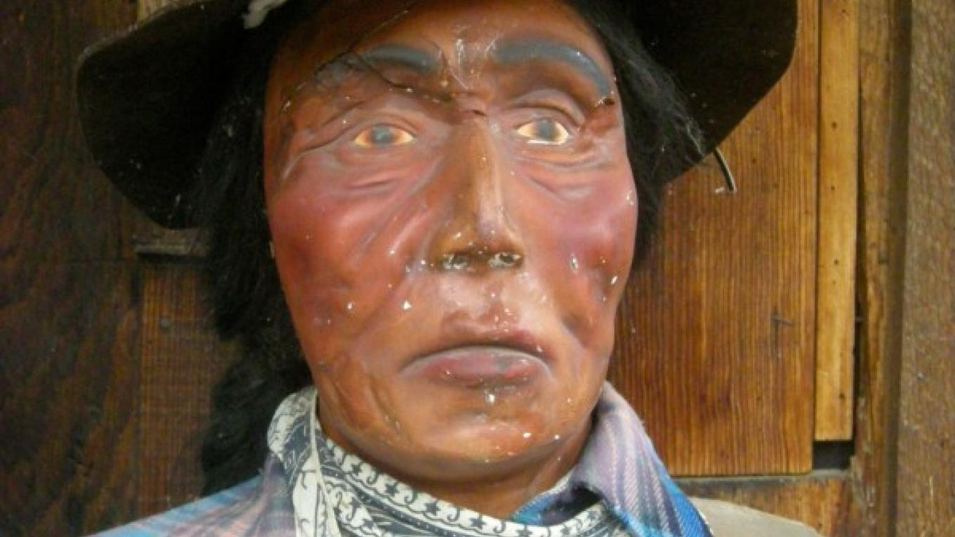 Joe the Indian, who is a permanent resident of the Kaweah Post Office – CJS