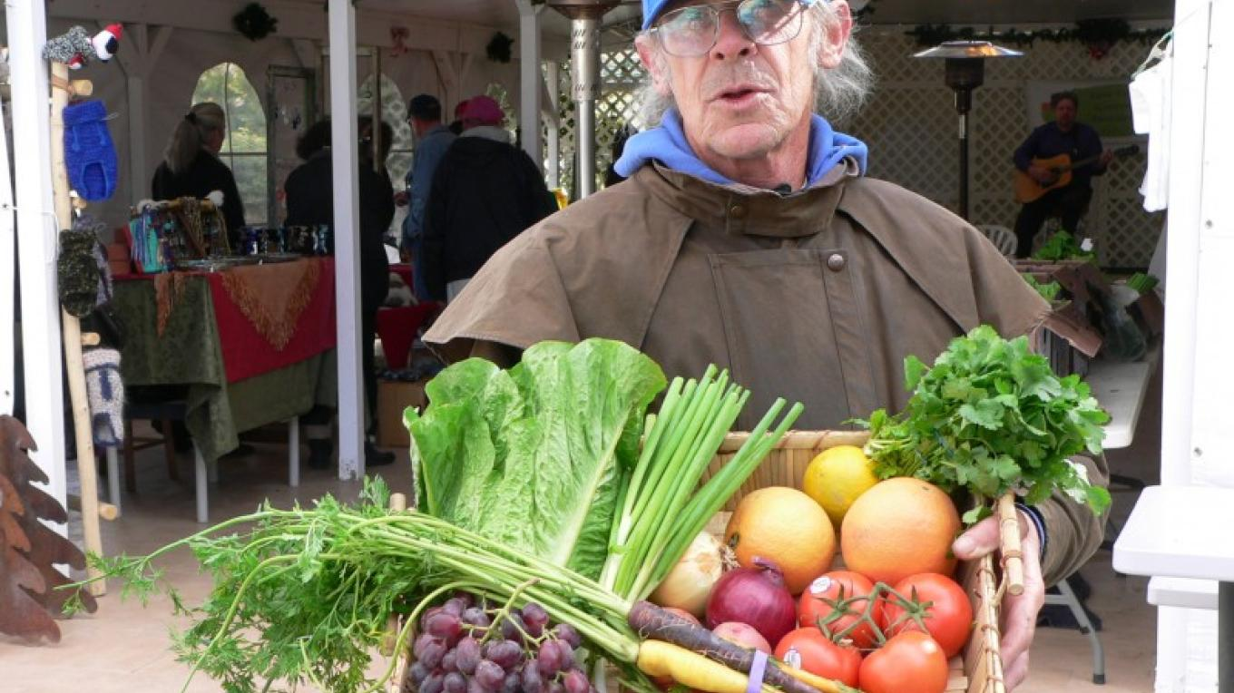 A typical selection of organic winter produce. – David Dills