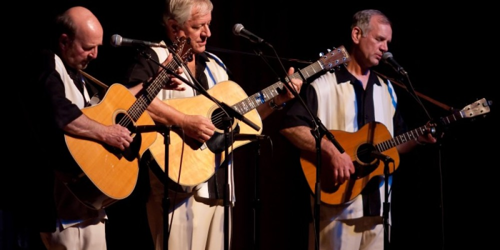 The Kingston Trio performs at the Veterans Hall – Tony Finnerty
