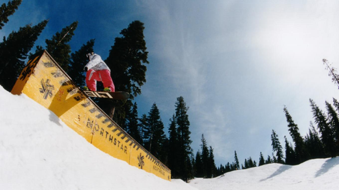Northstar Resort's top ranked parks and pipes – Rossa