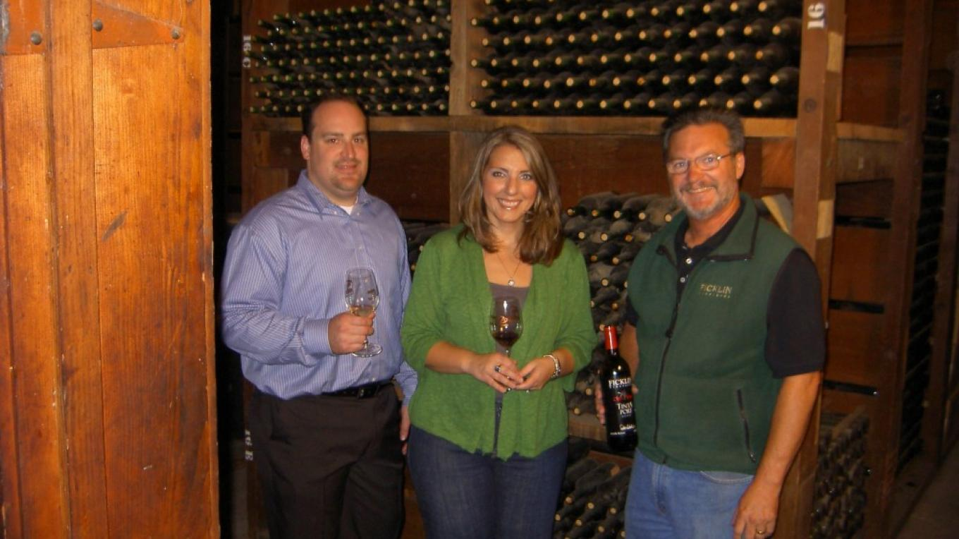 Winemaker Peter Ficklin gives eductaional wine tasting tours on the Madera Wine Trail – KC Pomering