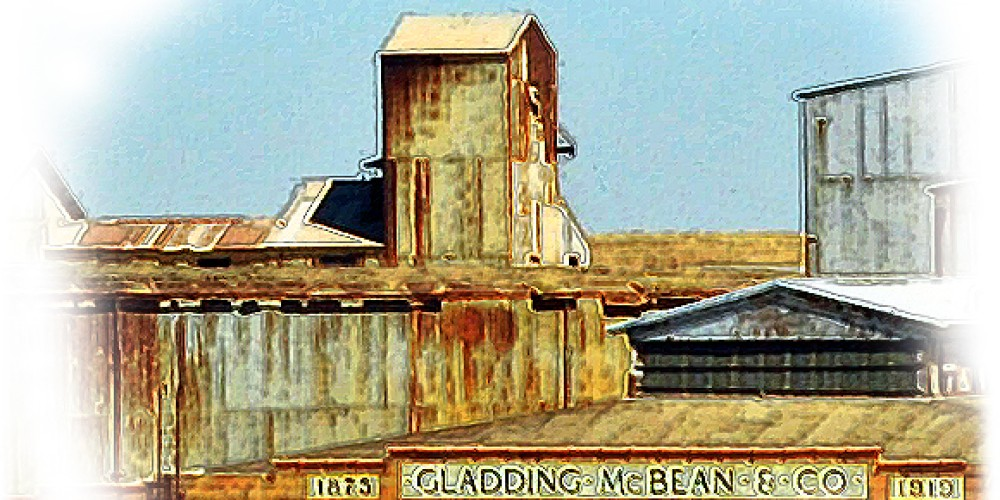 Gladding McBean in continuous operation since 1875 world famous for terra cotta products and home to America's ClayFest and tours of Gladding McBean opening April 20, 2013. – photo art by Jean Cross