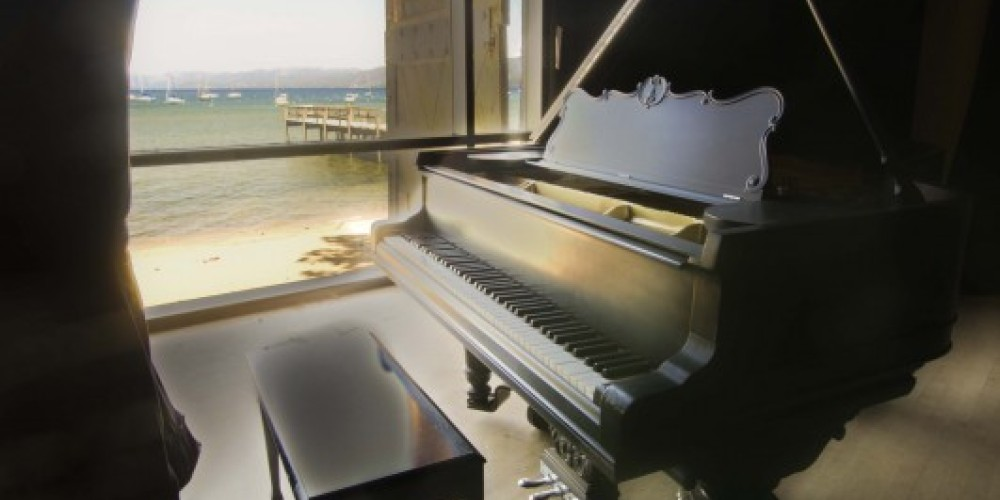 The 90 year old Piano owned by Lucky Baldwin is still used by performers today. – Adam Kingman