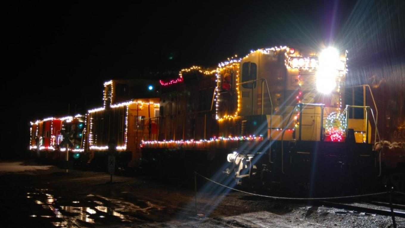 WPRM Santa Train – Gail McClure