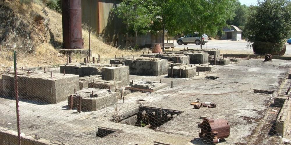 Kennedy Mine Compressor Building Remains – Kathy Allen