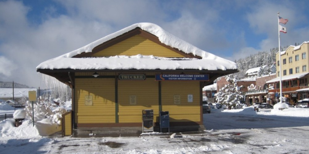 Truckee California Welcome Center in Winter – Truckee Donner Chamber of Commerce