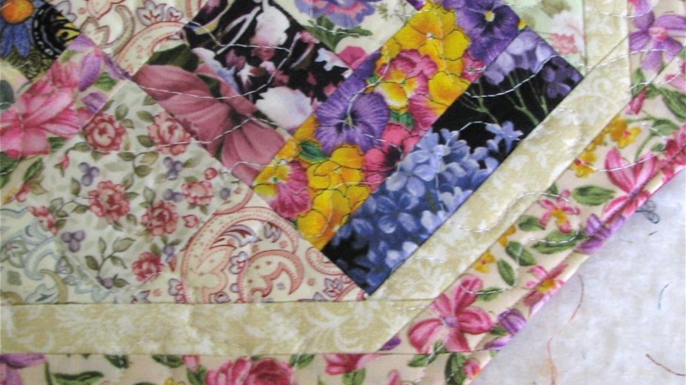 Placemat sizes, many in flower patterns, are fabulous for a tea party table! – Karrie Lindsay