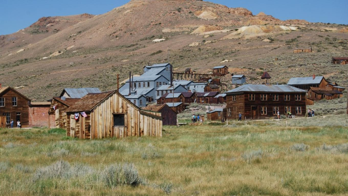 Bodie Stamp Mill – Sarah McCahill