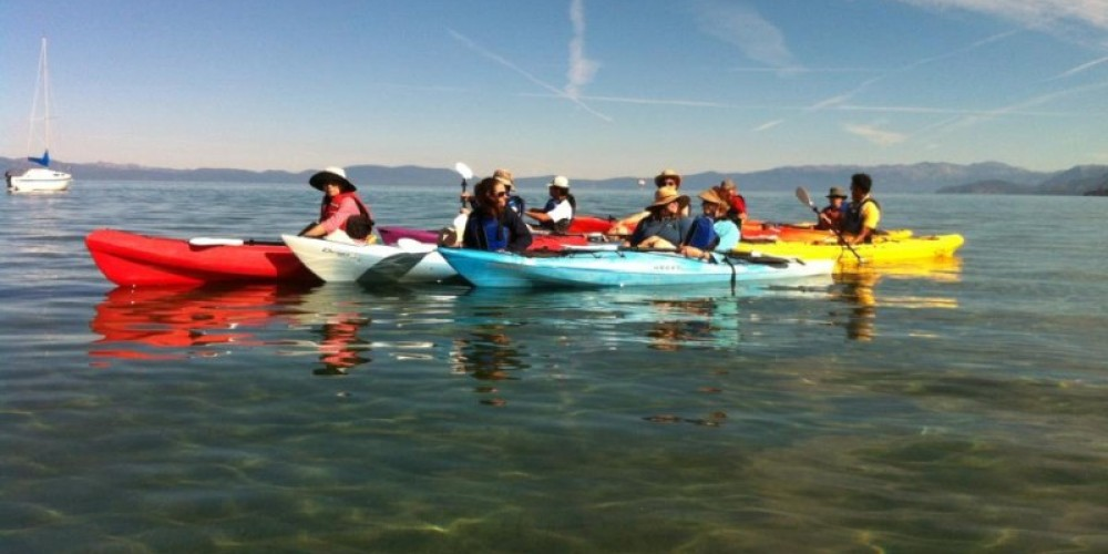 Tahoe Keepers on the Truckee Upper Marsh adventure tour. – Tahoe Expo