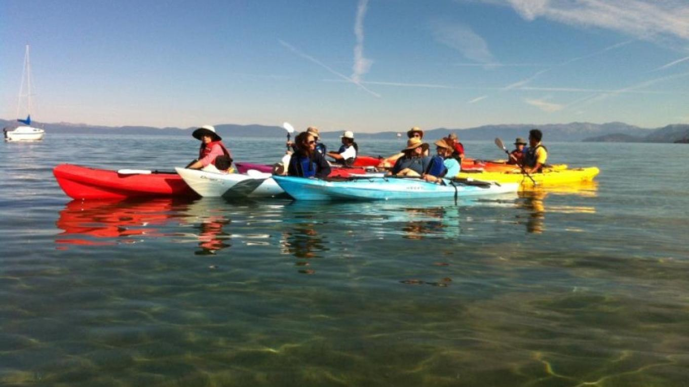 Tahoe Keepers on the Truckee Upper Marsh adventure tour. – Tahoe Expo