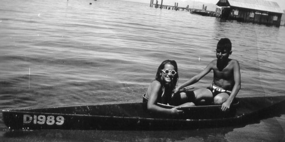 Fun in a canoe 1939