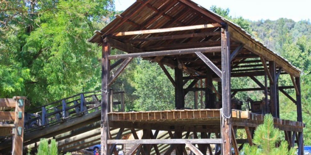 John Sutter's Lumbermill where gold was discovered January 24, 1848. – Ray Anderson