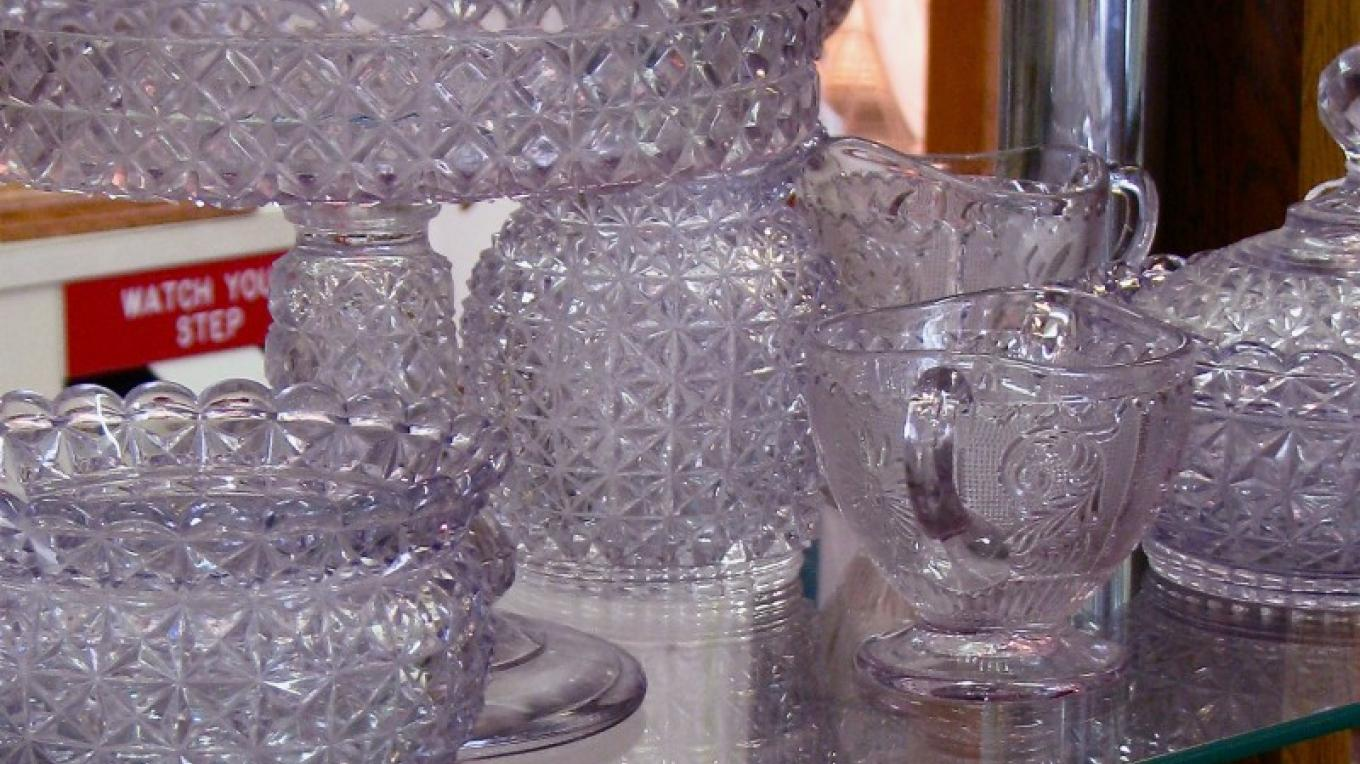 "Fine ""purple"" glass awaits the discriminating collector – Karrie Lindsay"
